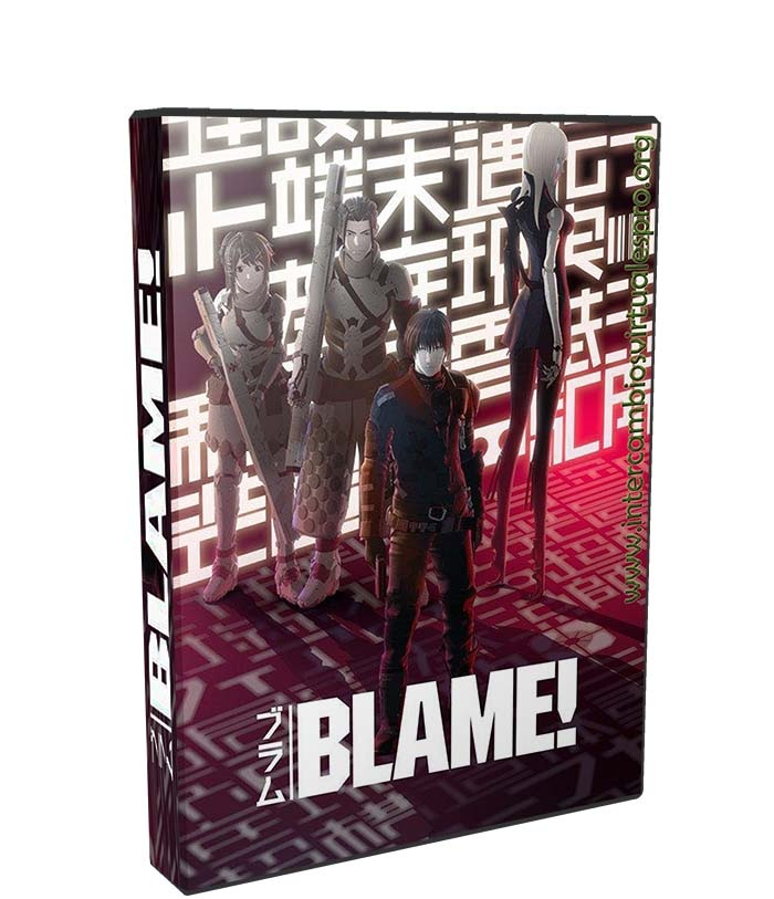 Blame poster box cover