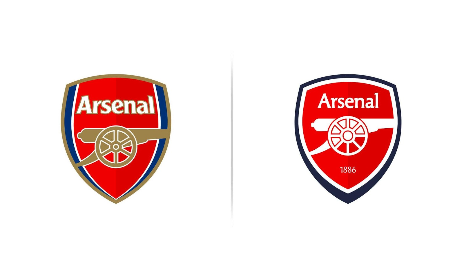 222f8c7c3d0 Redesigned Arsenal Logo by socceredesign - Footy Headlines