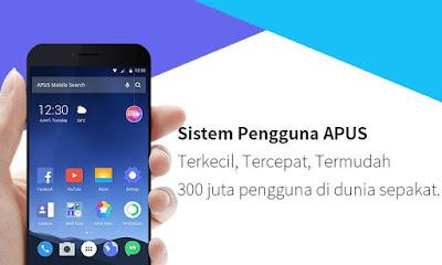 Tampilan Aplikasi APUS Launcher 2017