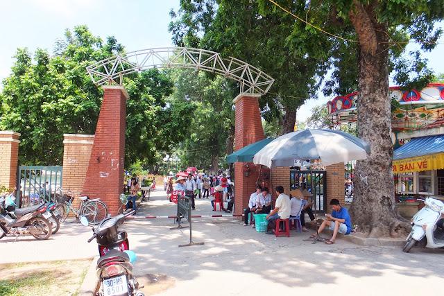 hanoi-zoo-entrance ハノイ動物園入口