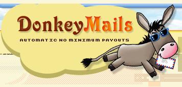 Jak wypłacić pieniądze z DonkeyMails? Opis, poradnik