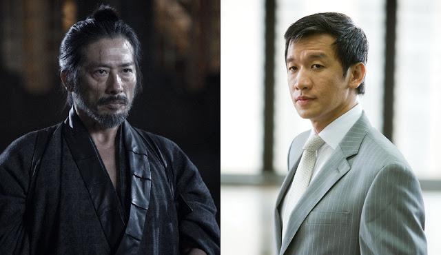 Chin Han e Hiroyuki Sanada
