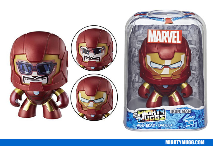 Iron Man Marvel Mighty Muggs Wave 3 2018