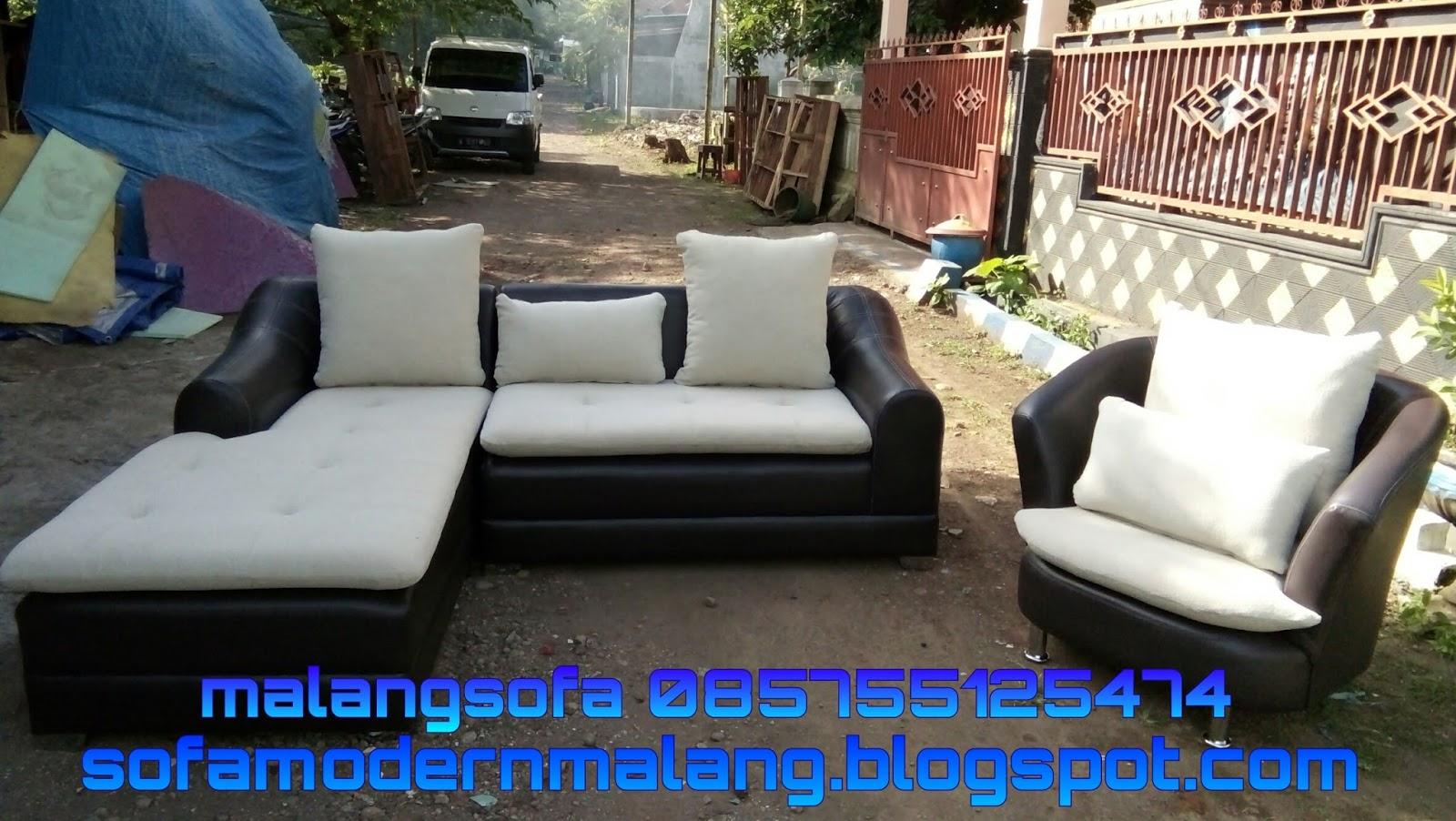 Sofa Cangkir Minimalis Produk Ukm Modern Malang Sudut Bantalan