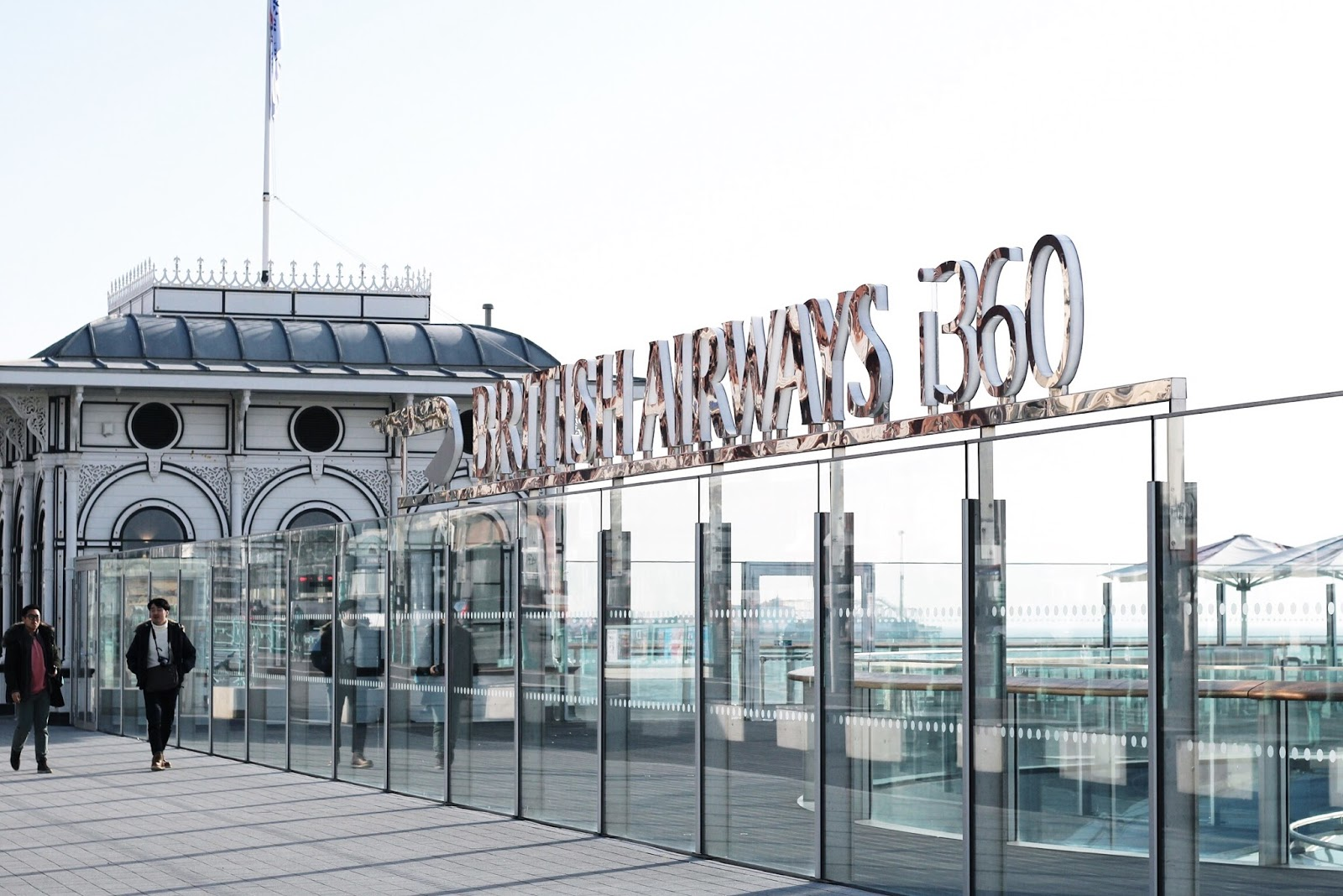 Brighton British Airways i360 Blog Review