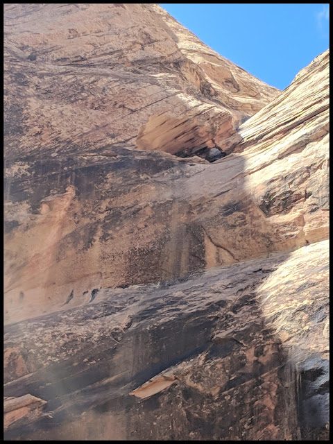 Third Arch Often Missed In Spirit Arch Canyon San Rafael Swell - Triple Arch not Double Arch in Spirit Canyon!