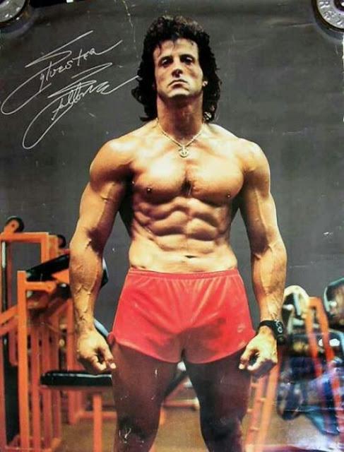 Cómo se puso en forma Sylvester Stallone para Rocky