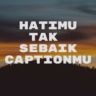 caption instagram keren