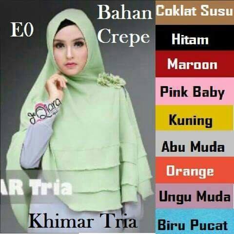 grosir jilbab instan modern, toko kerudung murah