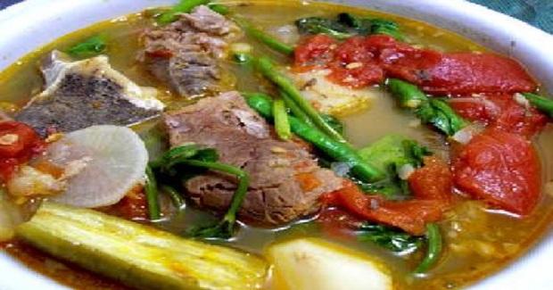 Sinigang Na Baboy Na May Pakwan Recipe