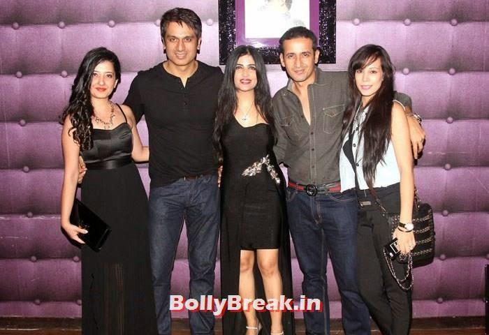 Amy Billimoria, Sachin Kurana, Shibani Kashyap, Harmeet Singh, Sunaina Singh