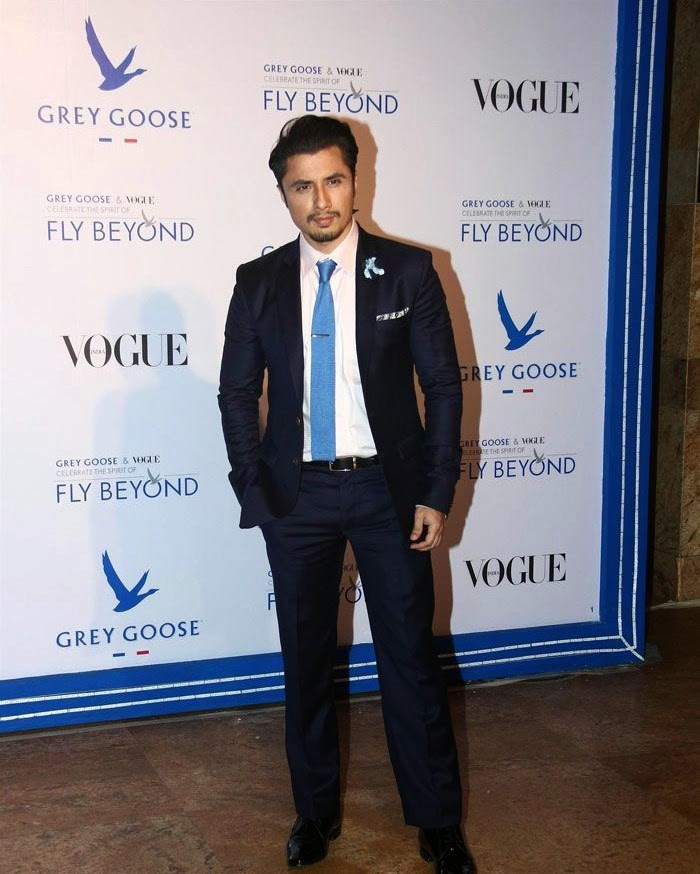 Ali Zafar, Pics from Red Carpet of Grey Goose & Vogue's Fly Beyond Awards 2014