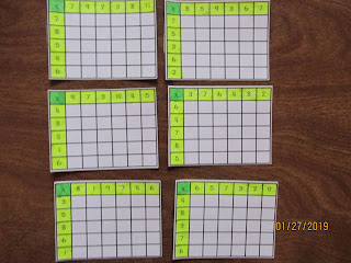 Partial Multiplication Tables FREEBIE in VIP Facebook Group