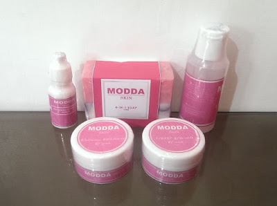 INTENSIVE WHITENING FACIAL SET by Modda Skin