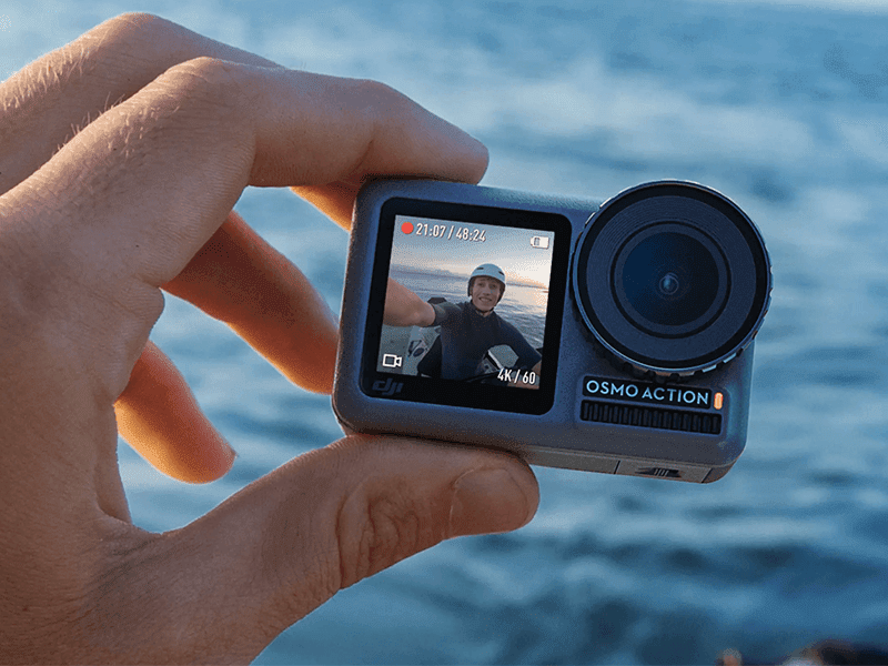 DJI Osmo Action with dual front, rear screens, 4K 60fps now official!