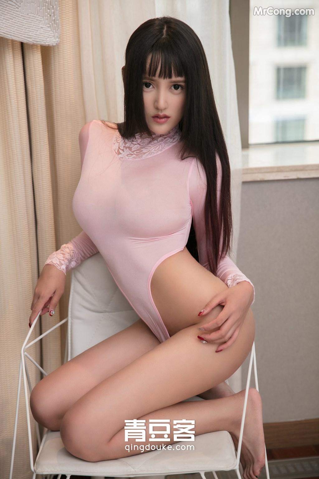 Image QingDouKe-2017-11-16-Bai-Yi-Han-MrCong.com-006 in post QingDouKe 2017-11-16: Người mẫu Bai Yi Han (白一晗) (51 ảnh)