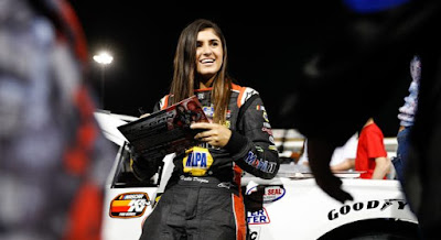 Hailie Deegan wrapped up her 2018 season with the NASCAR K&N Pro Series West Sunoco Rookie of the Year Award.