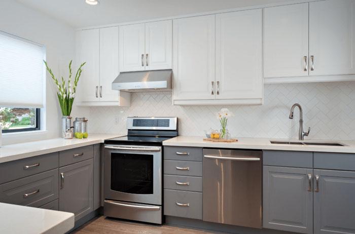 geri beyaz mutfak dolabı modelleri