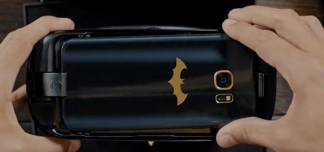 Samsung revela oficialmente o Galaxy S7 do Batman!