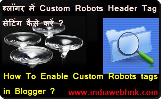 Advance Seo setting custom robots header tag