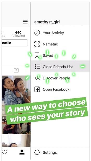 En Instagram ya pueden compartir historias personales solo para un grupo de amigos
