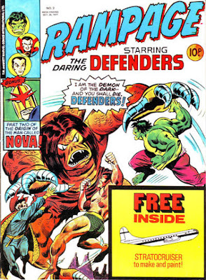 Rampage #2, The Defenders and Nova