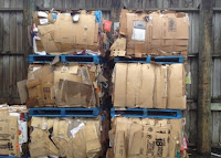 Profit Business From The Cardboard and Plastic Recycled