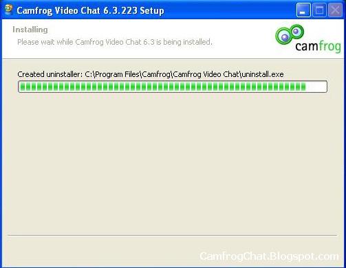 Proses Install Camfrog 6.3