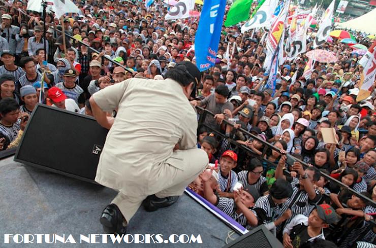 Inilah Situasi Yang Akan Membuat Pak Prabowo Menangis Bila Bertemu Kader Partai & Rakyat Indonesia