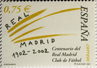 CENTENARIO REAL MADRID CLUB DE FÚTBOL