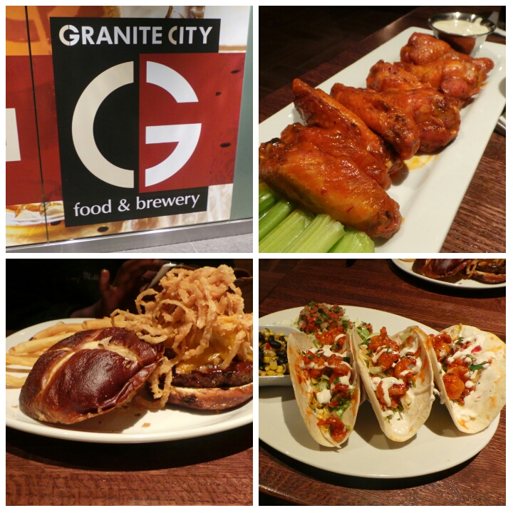 Free Is My Life Restaurant Review Granite City Food Brewery In