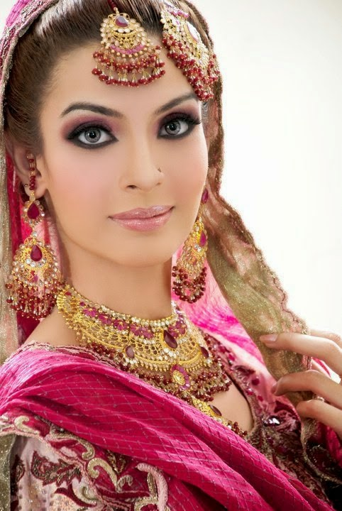 New Makeup Brushes: New Pakistani Bridal Makeup 2015-16