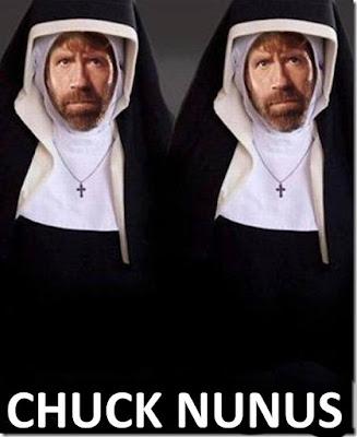 Chuck Norris as a nun