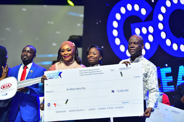 GCGT Season 7 Crowns Esther Benyeogo As Winner