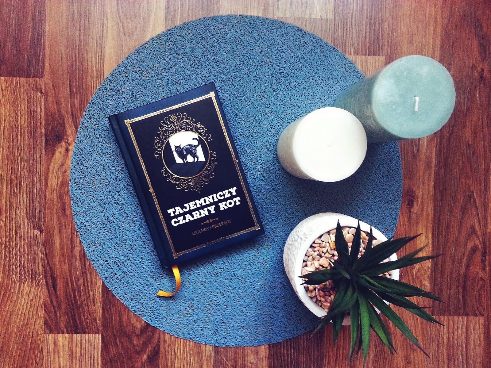 Tajemniczy czarny kot, Nathalie Semenuik, Alma Press, książka, recenzja, książki o kotach