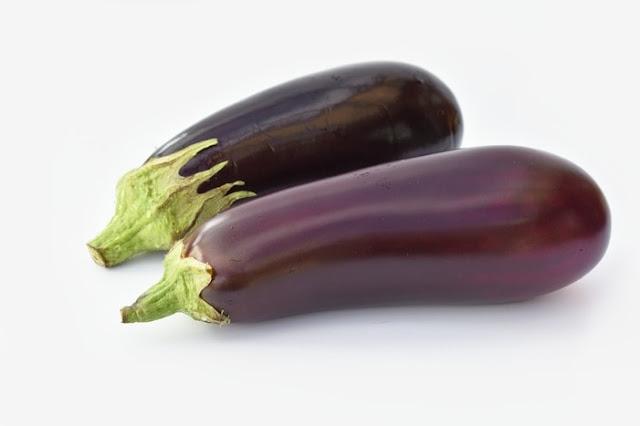 2 large aubergine (eggplant)
