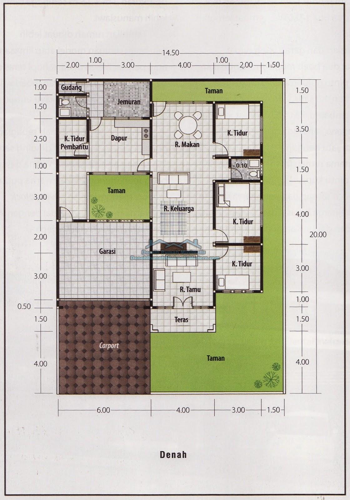 60 Desain Rumah Minimalis Luas Tanah 60 Meter Desain Rumah
