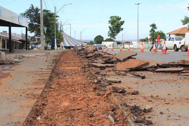 Senador Canedo: Obras do esgotamento sanitário tem início na região Central