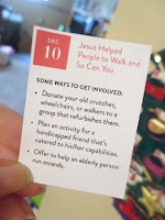 Dec 10: Jesus Helped People to Walk and So Can You