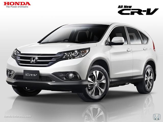 All New Honda CRV Gen 4 2017