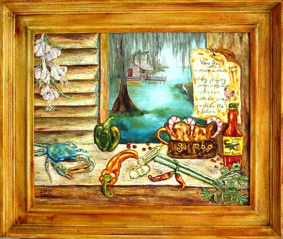 Franks Toybox Framed Art
