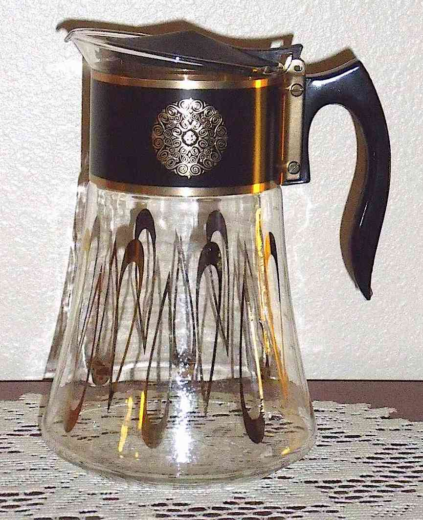 a 1960s coffee carafe