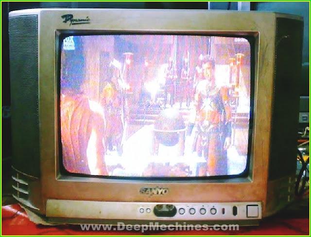 Perbaikan Kerusakan Mati Total/Standby TV SANYO 14-Inc Model: G14SP1N