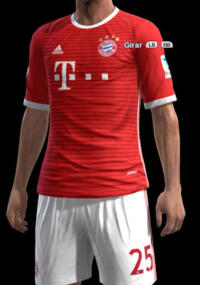 76254ae80 PES 2013 Bayern Munich Home Leaked Kit Update. CREDITS  Strex Kitmaker