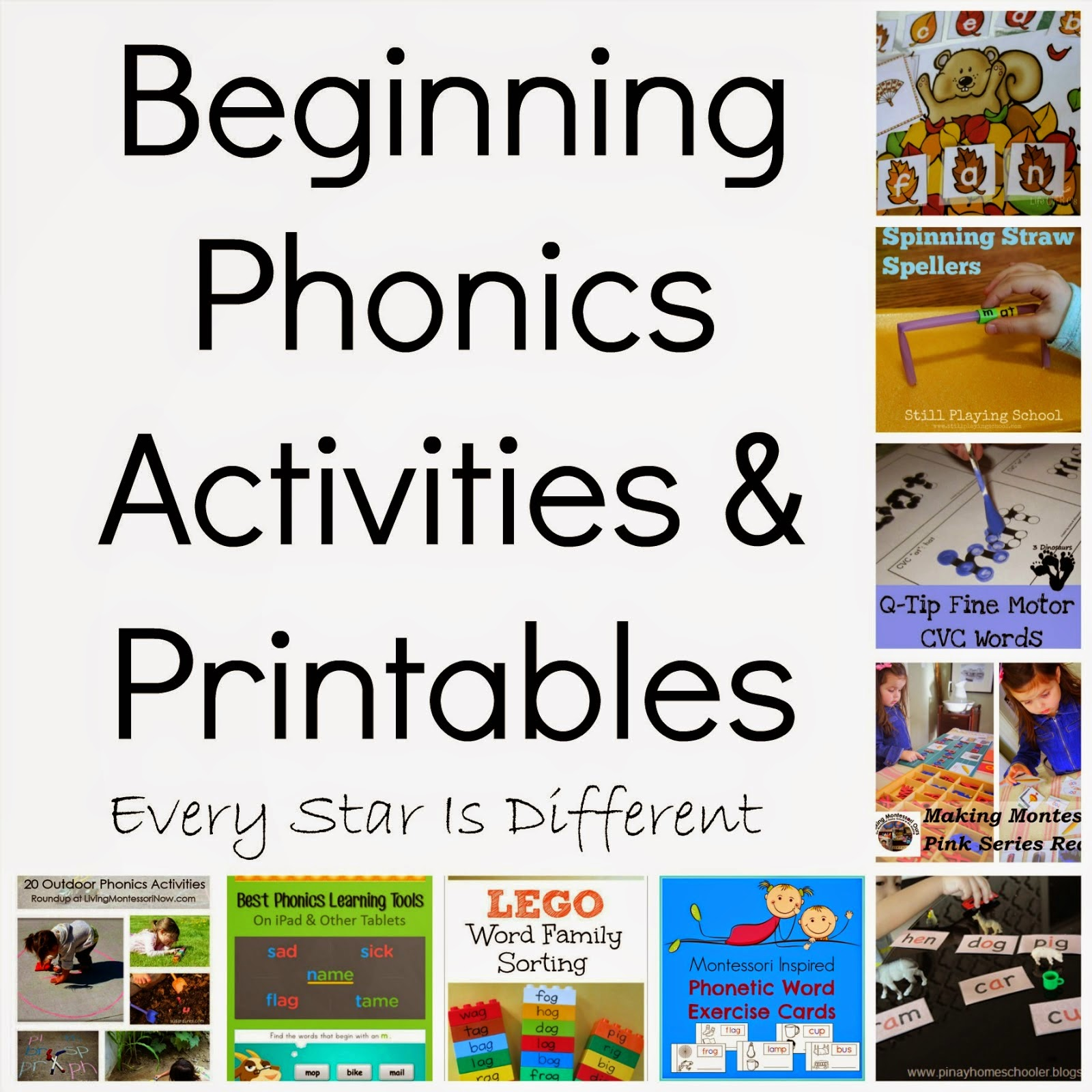 Early Reading Recommendations Activities Amp Printables