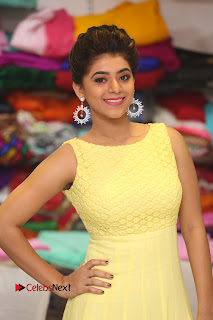 Actress Yamini Bhasker Latest Pictures in Yellow Long Dress  0016