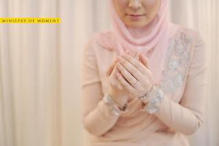 baju pengantin warna tanah lembut