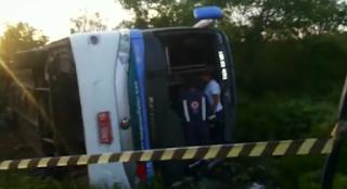 Grave acidente com ônibus da Guanabara deixa mortos e vários feridos