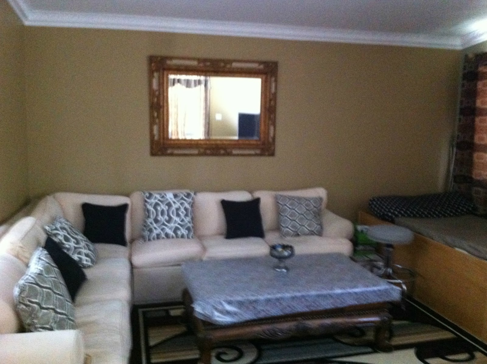 client before living room interior design decorating