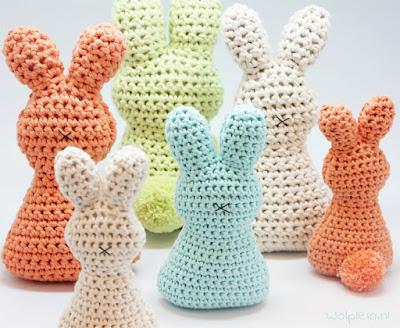Amvabe Crochet Easter Bunnies Free Crochet Patterns